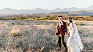 Natalie & Thomas's Wedding in the Garden Route, at Gondwana Game Reserve, Mosselbay