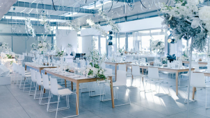 Tamaryn & Roberta's Stylish Wedding Reception Decor at Cavalli Stud Estate, Stellenbosch