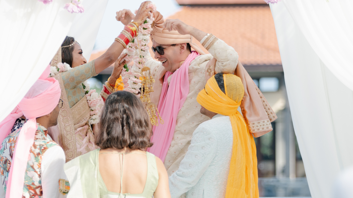 Our meticulously planned three day Hindu Wedding ceremony