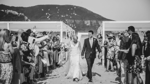 Nicole and Luke's Wedding on Nature's Valley Beach and Kay & Monty, Plettenberg Bay, South Africa