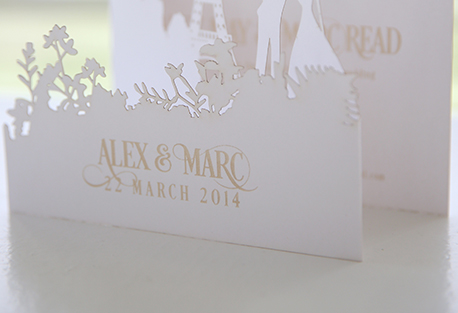 Our wedding services include Wedding Stationery design and printing