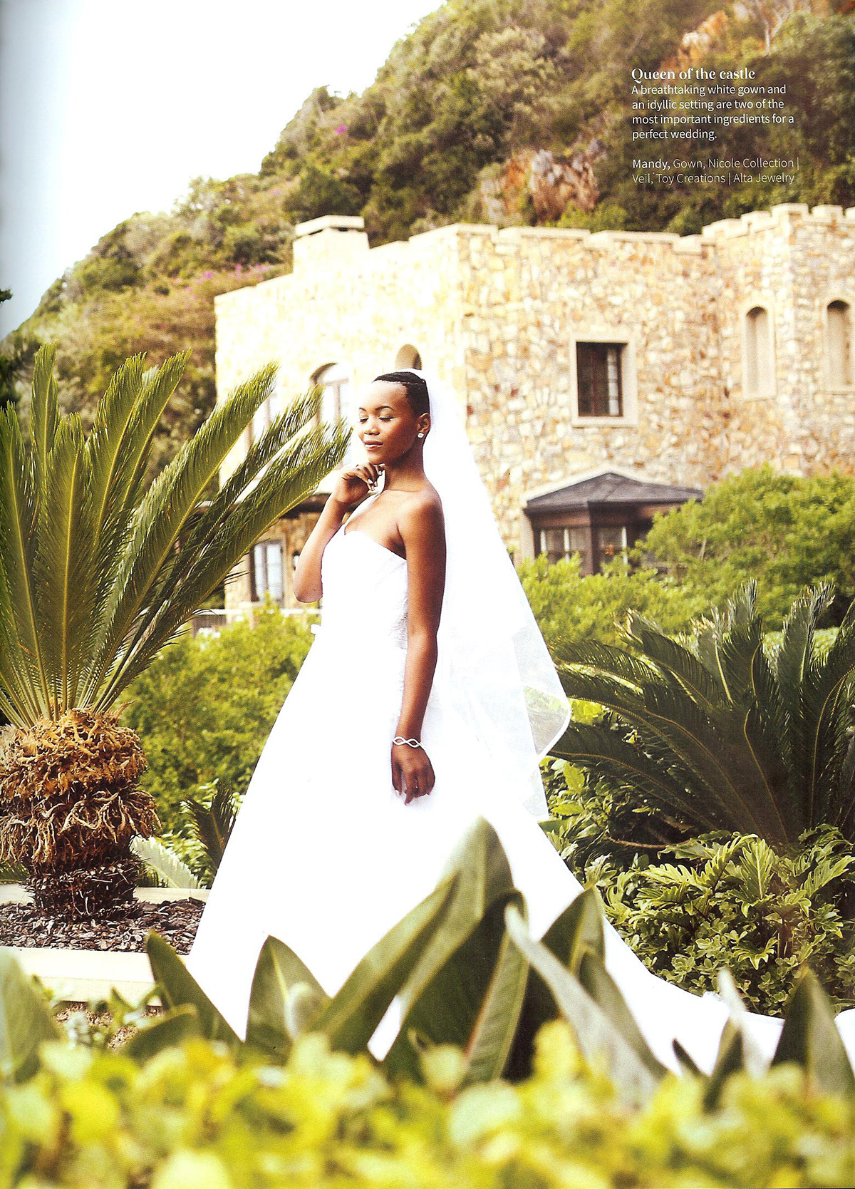Nubian Bride styled shoot