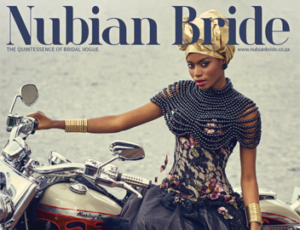 Wedding coordinated by Weddings by Marius features in Nubian Bride Issue 13