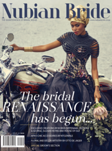 Our Wedding features in Nubian Bride Issue 13