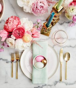 Easter table ideas & Easter colour schemes