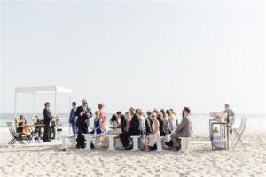 Wedding portfolio; beach wedding
