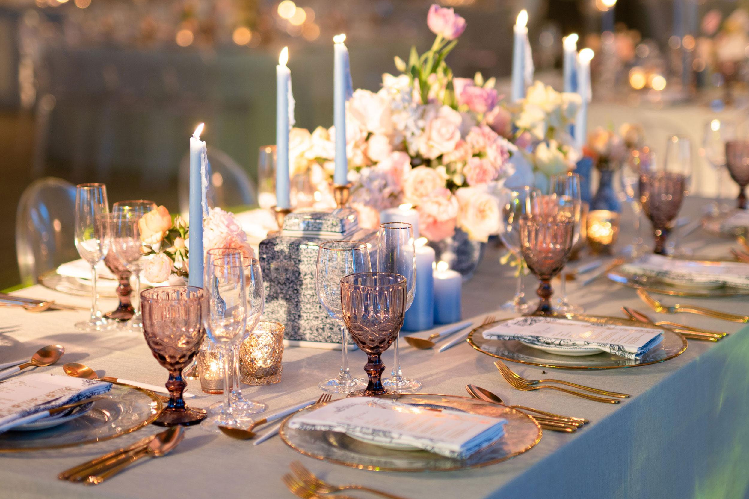 A perfectly set wedding venue - Weddings by Marius